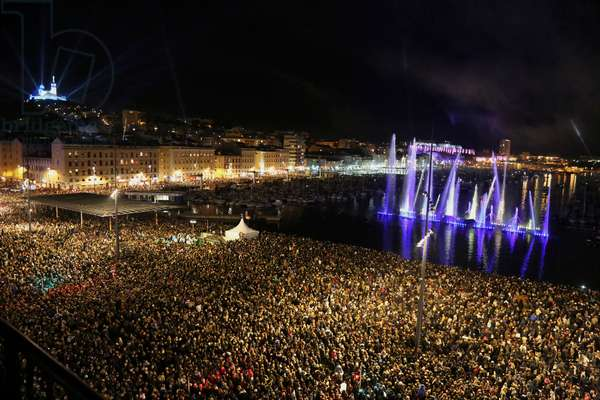 Marseille-Provence 2013 (Marseille European capital of culture in 2013). January 12, Opening Celebration: