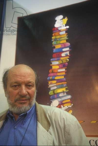 Torino, 1995. Argentinian cartoonist Guillermo Mordillo/Torino, 1995. Il disegnatore di fumetti Guillermo Mordillo -