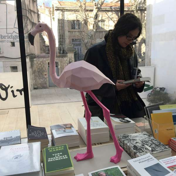 Arles, Provence (South of France). Bookstore in the Vincent van Gogh Foundation