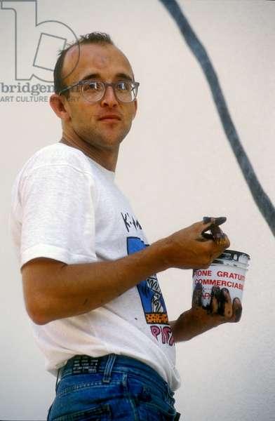 Tuttomondo, The Last Public Keith Haring Performance