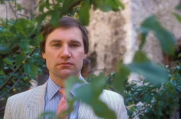 Spoleto, 1990. British astronomer John David Barrow (photo)