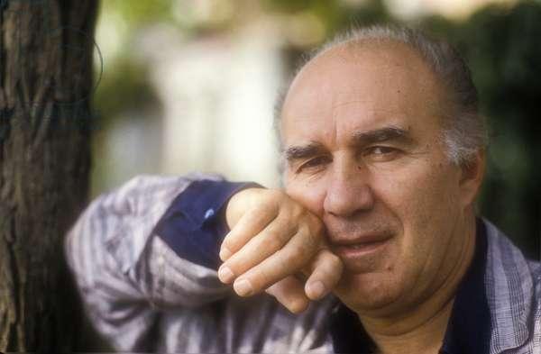 Venice Lido, Venice Film Festival 1987. French actor Michel Piccoli (photo)
