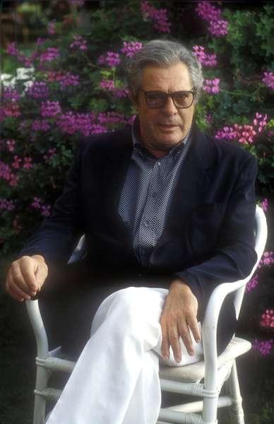 Italian comedian Marcello Mastroianni in 1993.