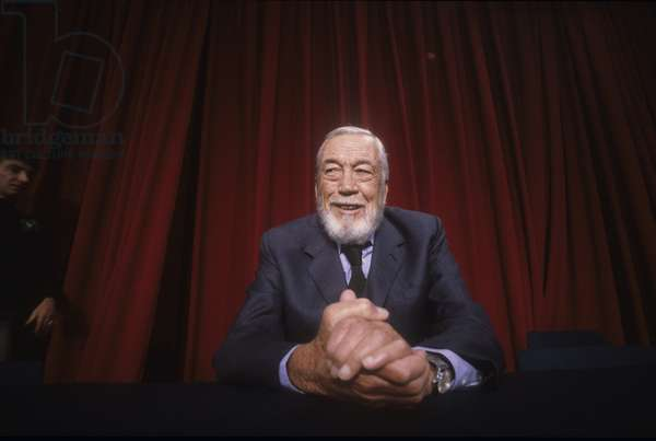 Cannes Film Festival 1984. American director and actor John Huston/Festival del Cinema di Cannes 1984. He registered John Huston -