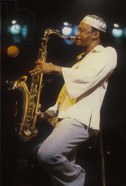U.S. jazz saxophonist George Adams, about 1980/George Adams, sassofonista jazz, 1980 circa -