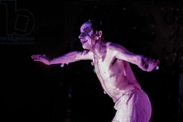 Rome, 1993. British choreographer and dancer Lindsay Kemp/Roma, 1993. Il coreografo e ballerino Lindsay Kemp -