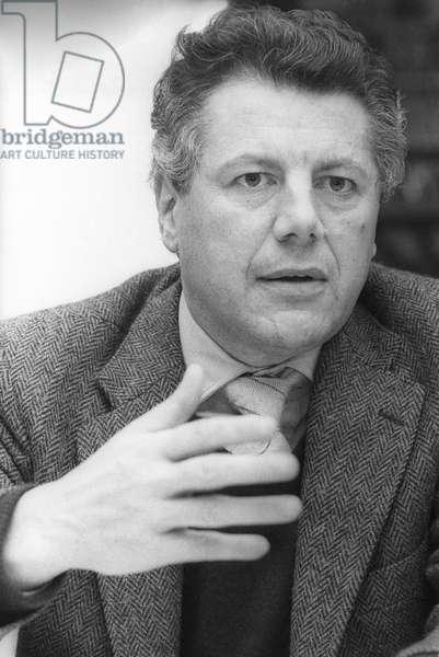Rome, 1980 Italian journalist Gianluigi Melega/Roma, 1980 Il giornalista gianluigi Melega-