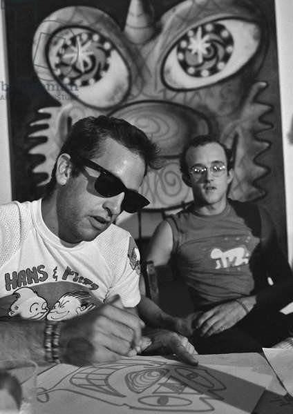 Kenny Scharf and Keith Haring