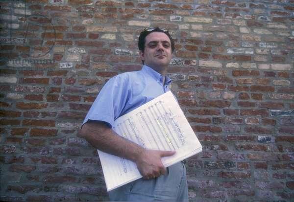 Venice Music Biennale 1995. Italian composer Alessandro Melchiorre/Biennale Musica di Venezia 1995. Il composer Alessandro Melchiorre -