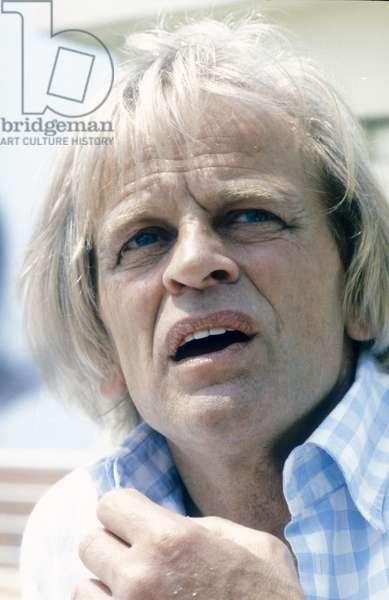German actor Klaus Kinski (about 1985)/L'attore Klaus KinSki (1985 circa) -