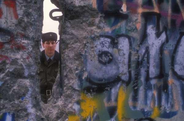 West Berlin, November 1989. The Berlin Wall fall