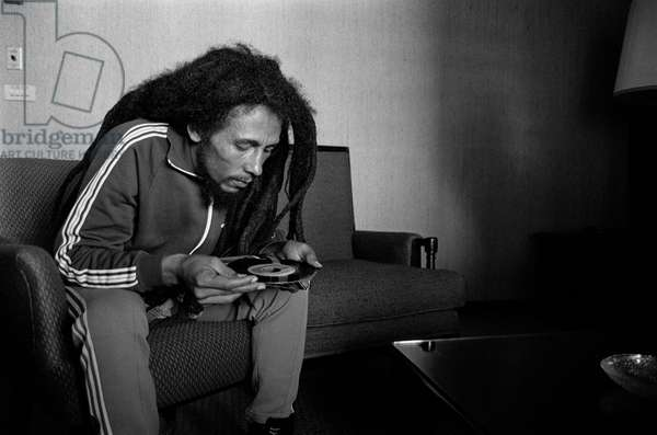 Bob Marley in Milan on June 27, 1980