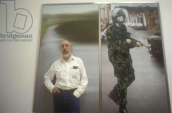 Venice Art Biennale 1993. British artist Richard Hamilton/Biennale Arte di Venezia 1993. English artist Richard Hamilton -