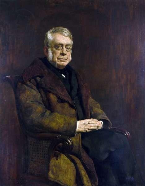 Portrait de Sir George Biddell Airy, 1883 (huile sur toile)