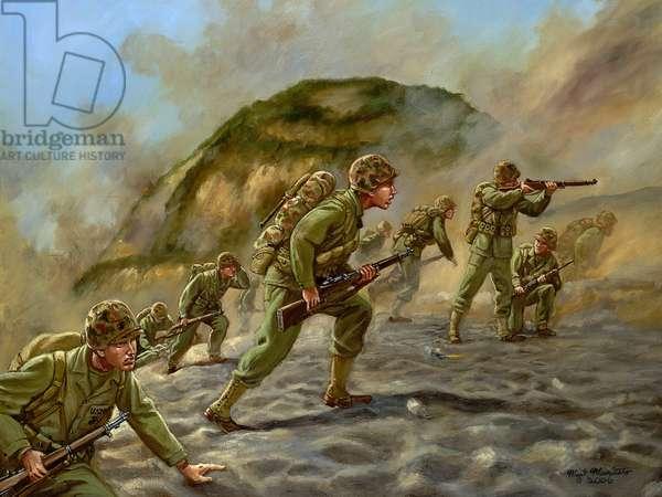Iwo-Jima, 2006 (oil on canvas)
