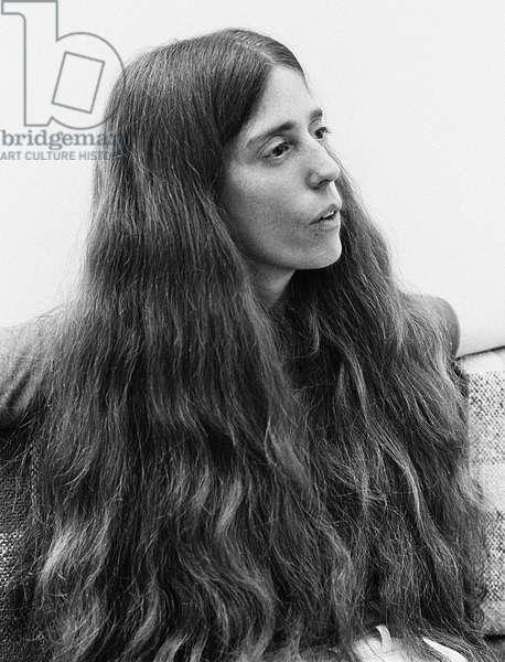 Elizabeth Swados, 1978 (b/w photo)