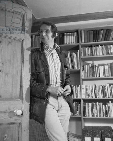 Ken Loach, 1972 (b/w photo)
