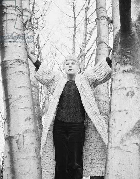 Ruth Rendell, 1981 (b/w photo)