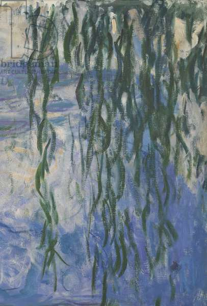 Waterlilies, 1916-19 (oil on canvas) (detail of 161015)