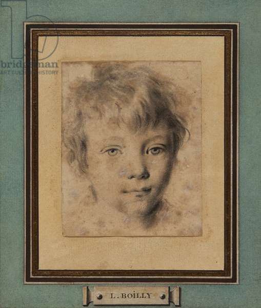 Head of a young boy (pencil & wash on paper)