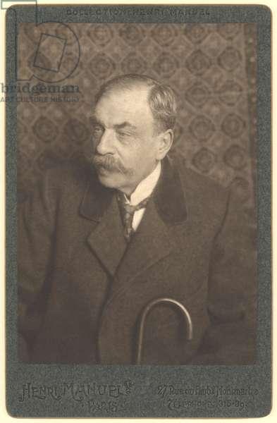 Marcel Prevost (1862-1941) (b/w photo)