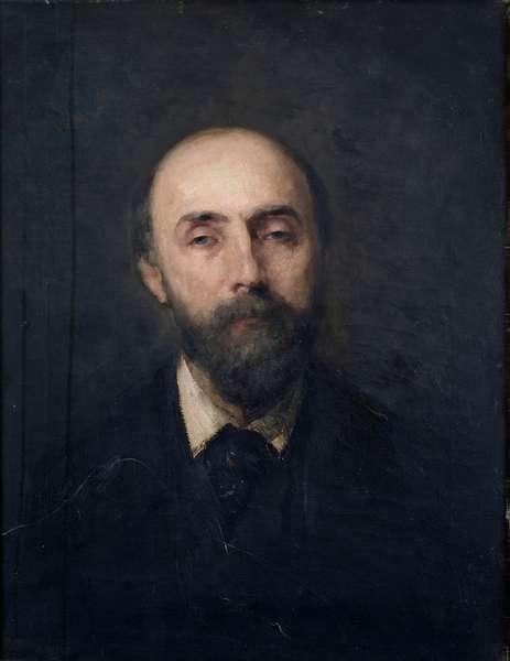 Portrait of Georges de Bellio (1828-94) c.1877 (oil on canvas)