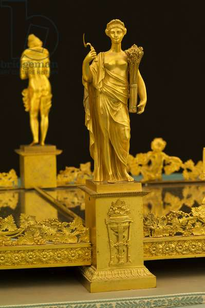 Ornamental centrepiece for Prince Lucien Bonaparte, 1810-14 (gilt bronze)