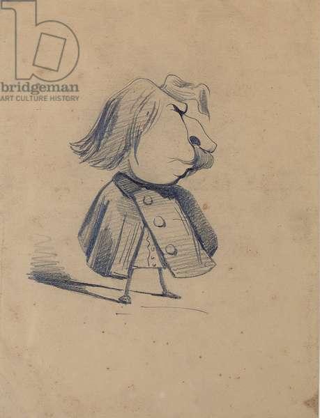 Alexandre Ursule Cellerier, called Felix, 1855-60 (pencil on paper)