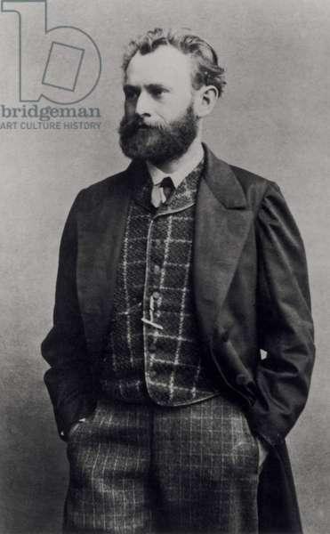 Edouard Manet (1832-83) (b/w photo)