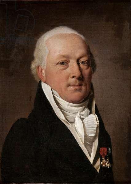 Portrait of Baron of Viomenil (oil on canvas)