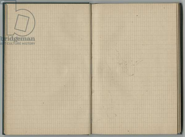 Sketch, from a sketchbook, 1888-89 (pencil on paper)