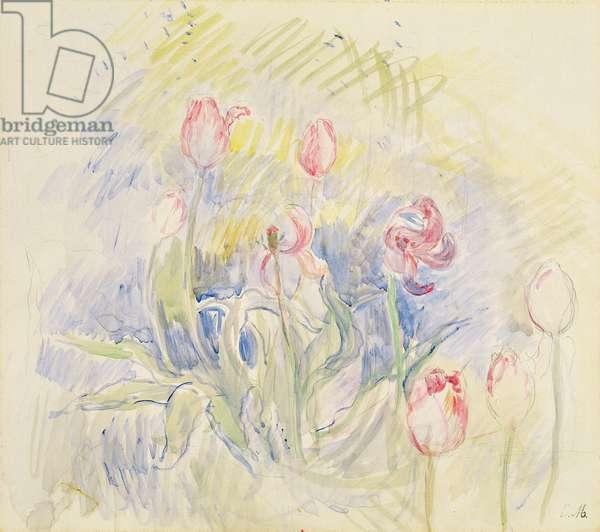 Tulips, 1890 (w/c on paper)