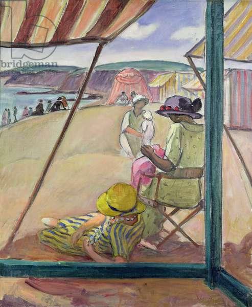 Saint-Gildas Point, 1922 (oil on canvas)