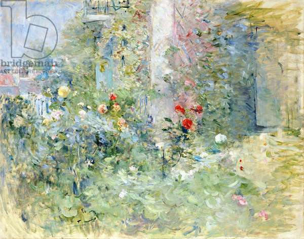 The Garden at Bougival, 1884 (oil on canvas)