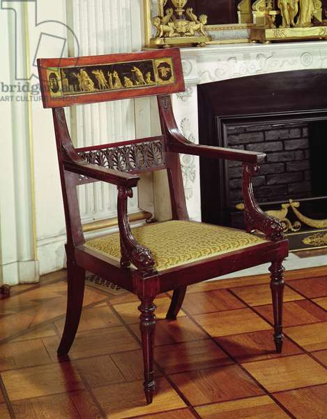 Armchair, 1796-99 (wood)