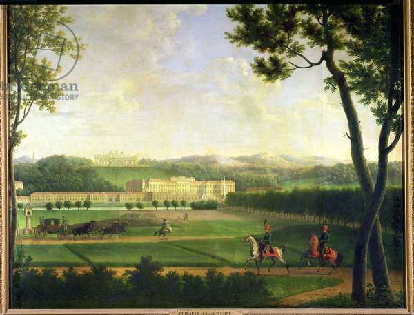 Schloss Schonbrunn, 1810 (oil on canvas)