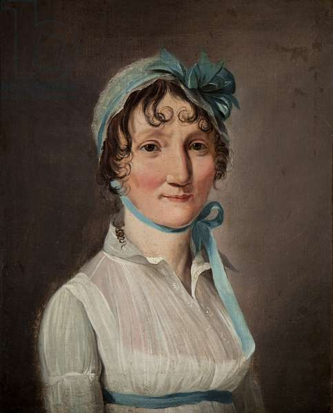 Portrait of Jeanne-Louise-Henriette Campan (oil on canvas)