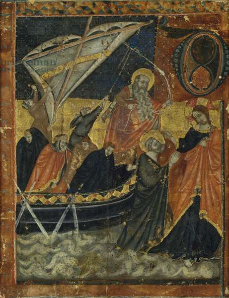 The Calling of St. Peter and St. Andrew (vellum)
