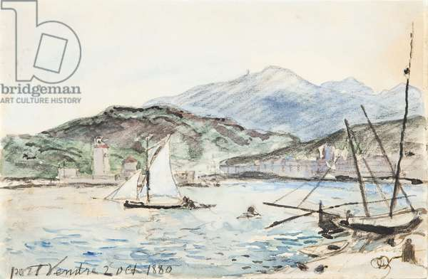 Port Vendres (w/c on paper)