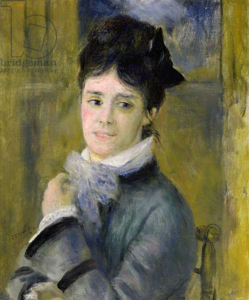 Portrait of Madame Claude Monet (1847-79) 1872 (oil on canvas)