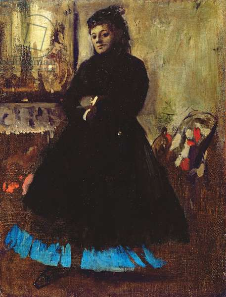 Portrait of Madame Ducros, 1858 (oil on canvas)