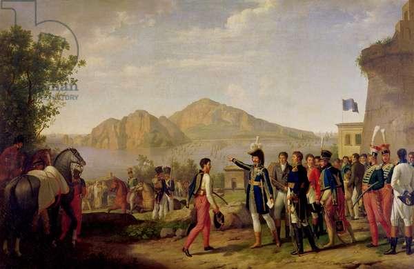 Joachim Murat (1767-1815) Marshal of France and King of Naples Ordering the Capture of Capri in 1808