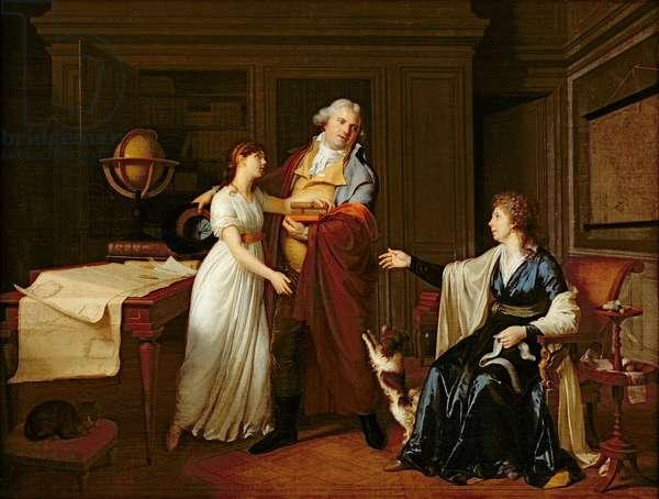 Family Portrait, 1798 (oil on canvas)