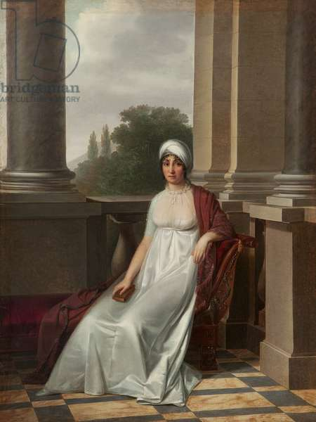 Marie-Laetitia Ramolino (1750-1836) (oil on canvas)