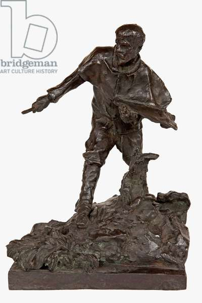 Model for the Monument to Jules Bastien-Lepage, 1889 (bronze) (see also 442037, 442038)