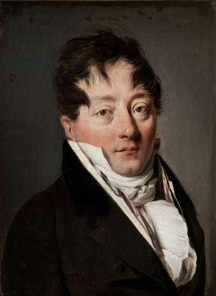 Presumed portrait of Grimod de la Reyniere (oil on canvas)