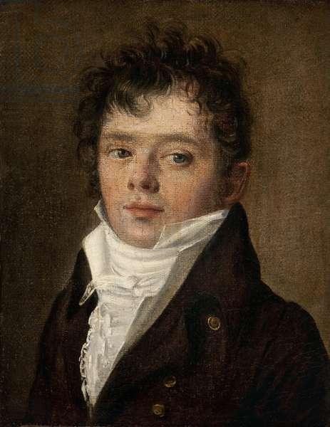 Presumed portrait of the chansonnier Desaugier, 1808 (oil on canvas)