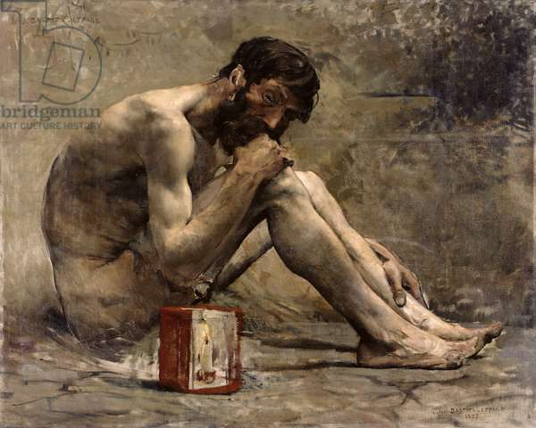 Diogenes, 1905 (oil on canvas)