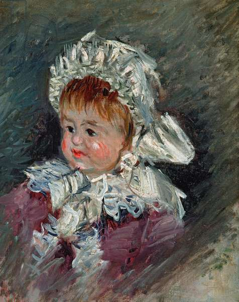 Michel Monet (1878-1966) as a Baby, 1878-79 (oil on canvas)