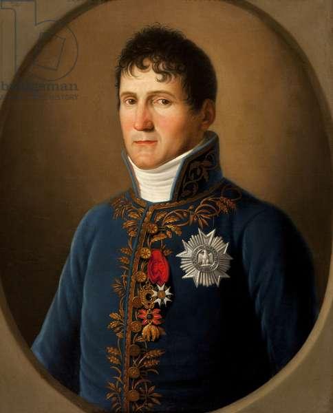 Portrait of Felix Baciocchi, prince de Lucques et de Piombino (1762-1841) (oil on canvas)